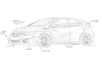 Tuning : RevoZport enlève l'aileron de la Honda Civic Type R