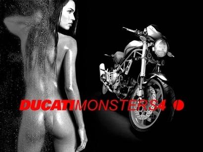 Moto & Sexy : Ducati vêtu de noir et blanc : partie 3