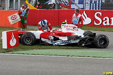 Formule 1 - Toyota: La cause de la rupture de suspension de Glock à Hockenheim était à chercher à Silverstone