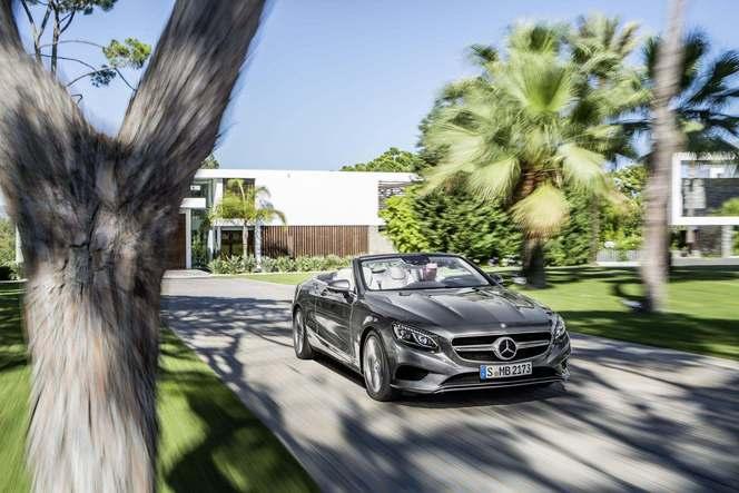 Mercedes ouvre les commandes de la Classe S Cabriolet