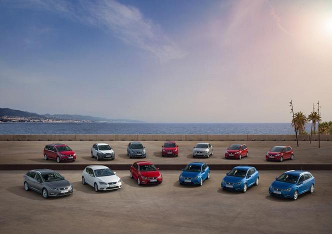 Seat a livré 200000 véhicules 1er semestre 2014