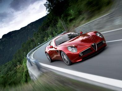 Alfa Romeo 8C: le Japon est en manque
