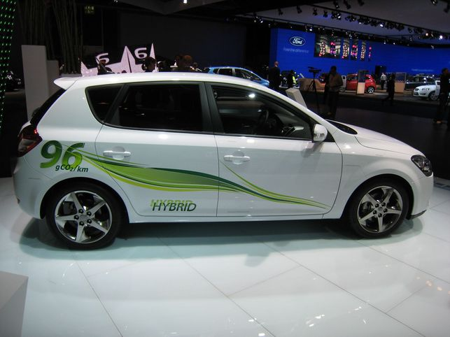 En direct du Salon de Francfort : les Concepts Kia cee'd et Sorento hybrides