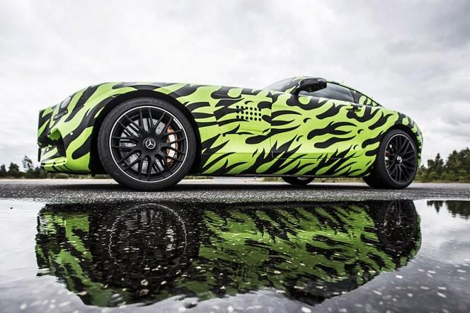Bande-Annonce : encore la Mercedes AMG GT