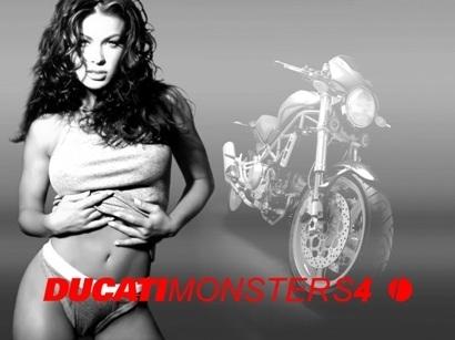Moto & Sexy : Ducati vêtu de noir et blanc : partie 6