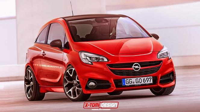 Future Opel Corsa OPC : comme ça ?