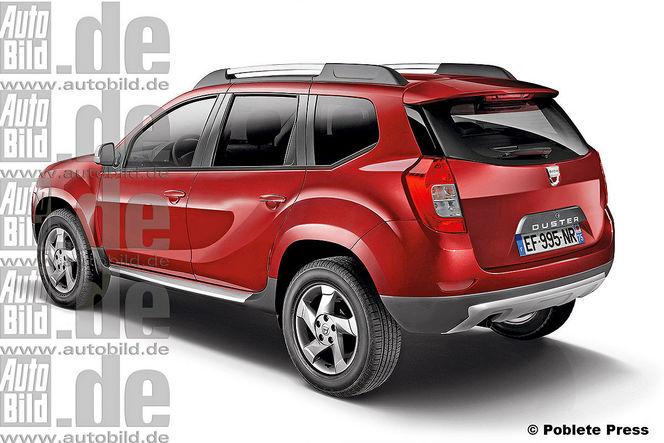 Futur Dacia Duster: comme ça?