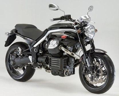 Nouveauté 2007 : Moto Guzzi Griso 850.