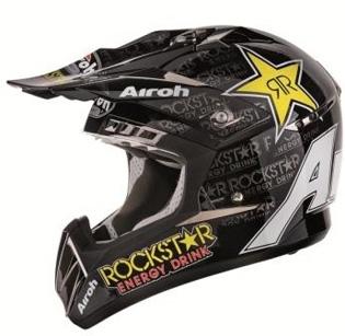 Airoh : Aviator, Terminator et CR900 s'habillent en Rockstar