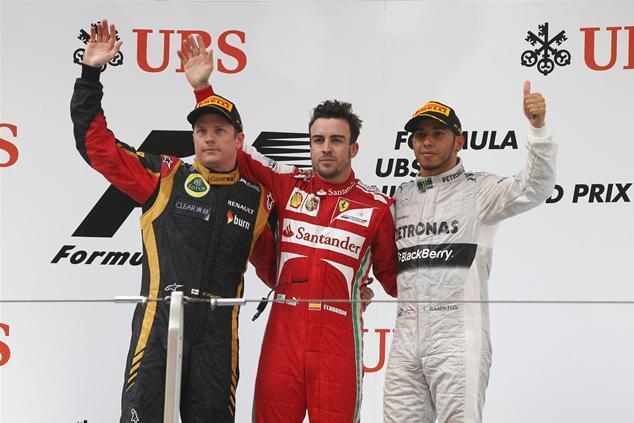 F1 GP de Chine : Alonso fait un sans-faute