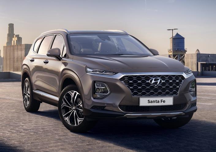 Salon de Genève 2018 - Hyundai Santa Fe: les premières photos