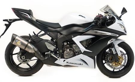 Leo Vince: slip-on pour Kawasaki ZX-6R 636 (2013)