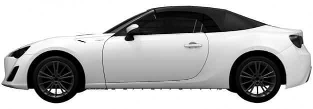 Toyota GT86 cabriolet : premières photos du modèle définitif