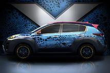 Kia dévoile un Sportage aux couleurs du prochain X-Men