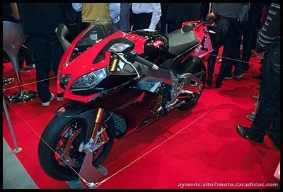 Salon de Milan 2008 en direct : Nouvelle Aprilia RSV4 Factory - Juste Sublime