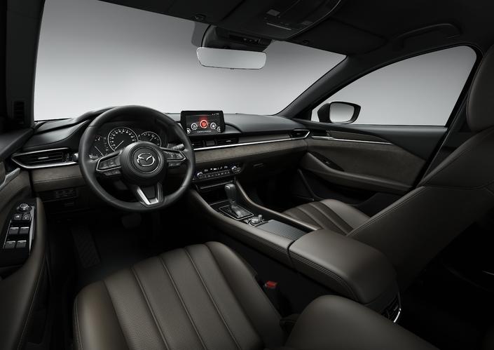Salon de Genève 2018 - Mazda 6 berline et break restylées: peaufinées