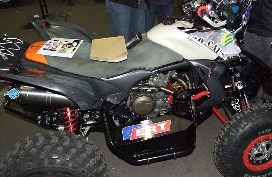 Dakar 2013 : Pascal Delesque s'élance en quad