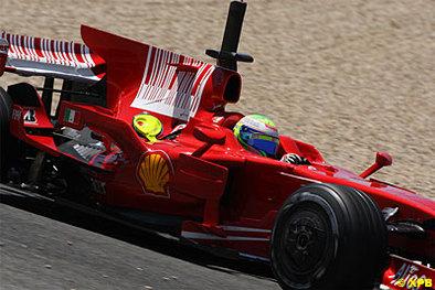 Formule 1 - Hongrie: Ferrari y roulera sa bosse
