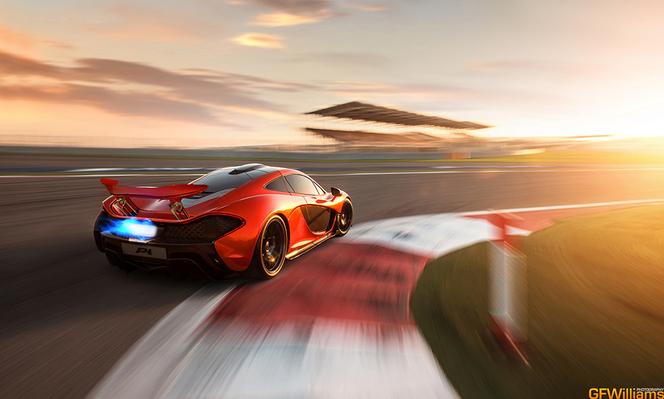 McLaren P1 : deuxième volée de photos et une vidéo