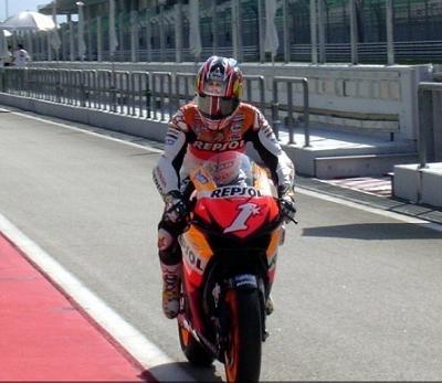 Moto GP Test Sepang: Hayden ne démobilise pas