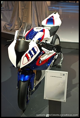 Salon de Milan 2008 en direct : BMW S1000RR SBK