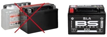 """Batterie BS Battery: fini l'entretien avec la gamme """"SLA"""""""