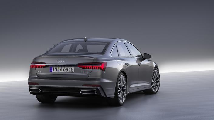 Audi A6 : mini A8 - Vidéo en live du salon de Genève 2018