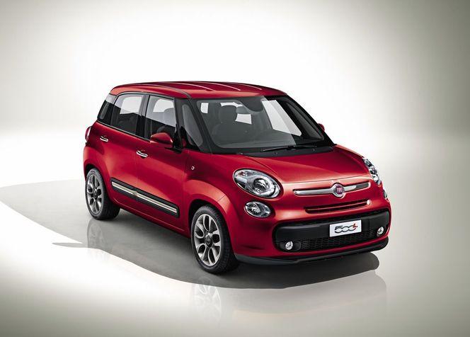 Genève 2012 : la nouvelle Fiat 500L se montre enfin
