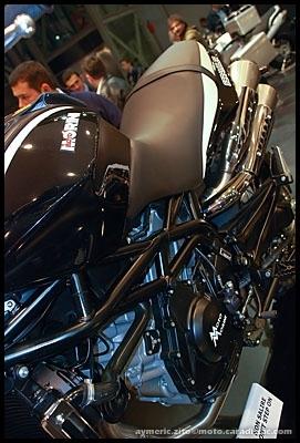 Salon de Milan 2008 en direct : Moto Morini 1200 Scrambler