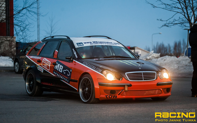 Drift : Black Smoke Racing s'équipe d'une nouvelle Mercedes break diesel