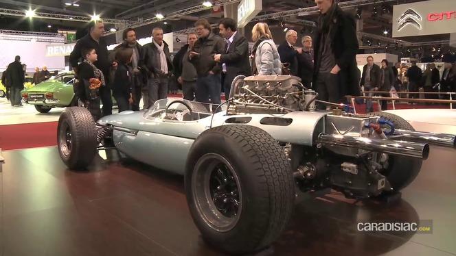 Vidéo - Rétromobile 2012 comme si vous y étiez : les anciennes monoplaces BMW