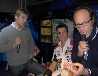 Moto GP: Randy a rencontré ses fans à Milan