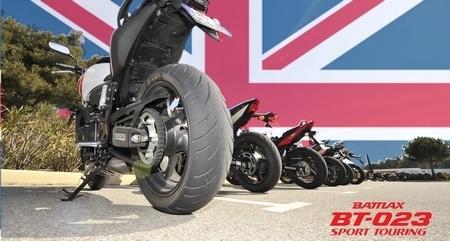 Le Bridgestone BT-023 élu meilleur pneumatique Sport-Touring par la presse Anglaise