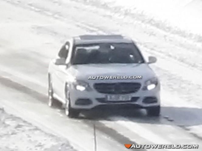 Surprise : la future Mercedes Classe C