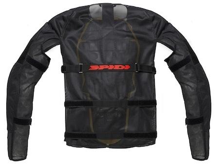 Blouson Airtech Armor par Spidi: de l'air et des protections CE
