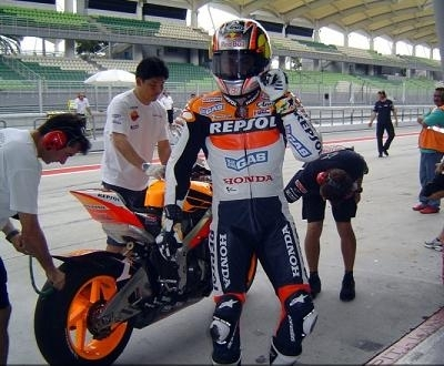 Moto GP: Hayden sur le billard