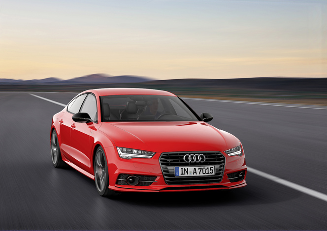 Audi lance l'édition spéciale A7 Sportback 3.0 TDI compétition