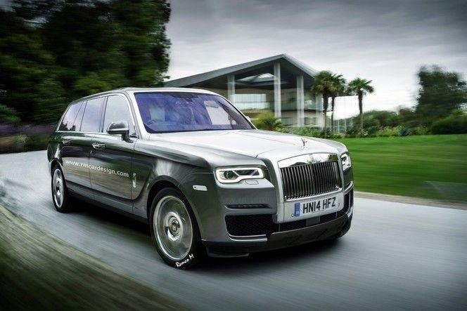 SUV Rolls-Royce : comme ça ?