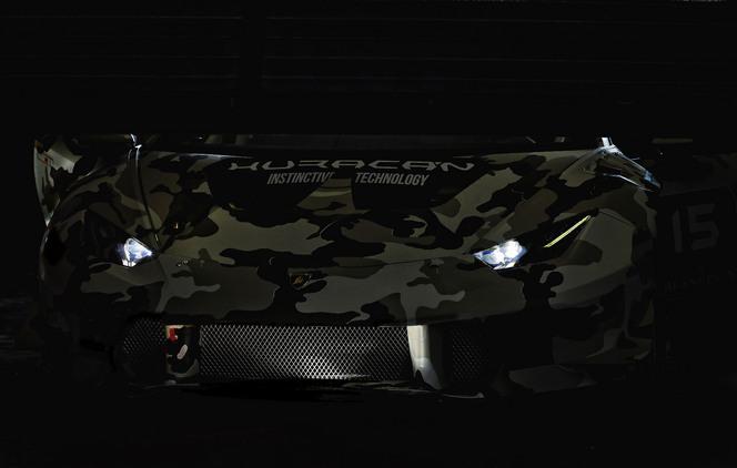 Lamborghini fait rouler la nouvelle Huracan Super Trofeo