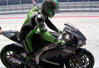 Moto GP Kawasaki: Le nouveau Ninja plaît à O.J