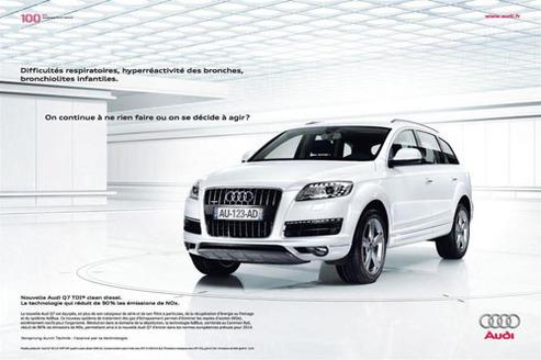 Audi Q7 : le 4x4 qui soigne vos problèmes de bronches