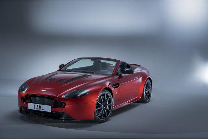 Voici la nouvelle Aston Martin V12 Vantage S Roadster