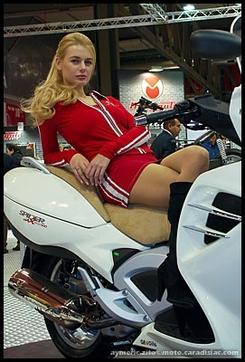 Salon de Milan 2008 en direct : Les Girls de l'EICMA - Part 3/3