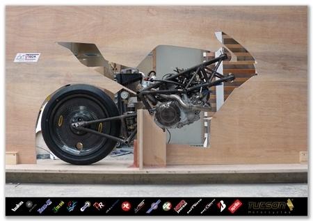 Tucson BT550 SL - Episode 12 : Elle est sur ses roues !! (ou presque)