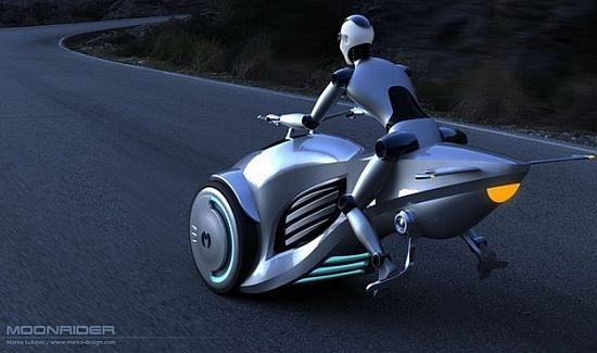 Insolite : et si la moto du futur était volante