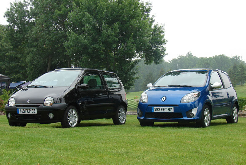 renault twingo vs twingo 2 l h r dit saute d une g n ration. Black Bedroom Furniture Sets. Home Design Ideas