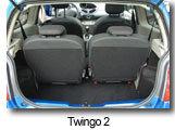 renault twingo vs twingo 2 l h r dit saute d une g n ration. Black Bedroom Furniture Sets. Home Design Ideas