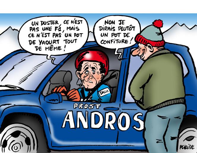Le dessin du jour - Prost Andros