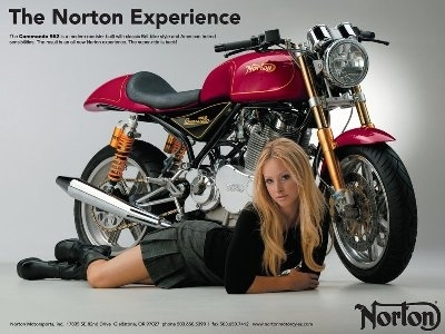 Moto & Sexy : la Norton sage.
