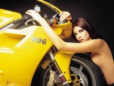 Moto & Sexy : Angelique 996.